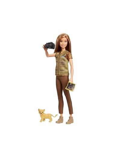 Barbie Nat Geo Bebekleri GDM44-GDM46 Renkli